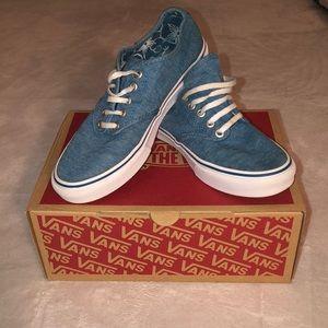 GUC - Vans Winston Denim/White Casual Skate Shoes